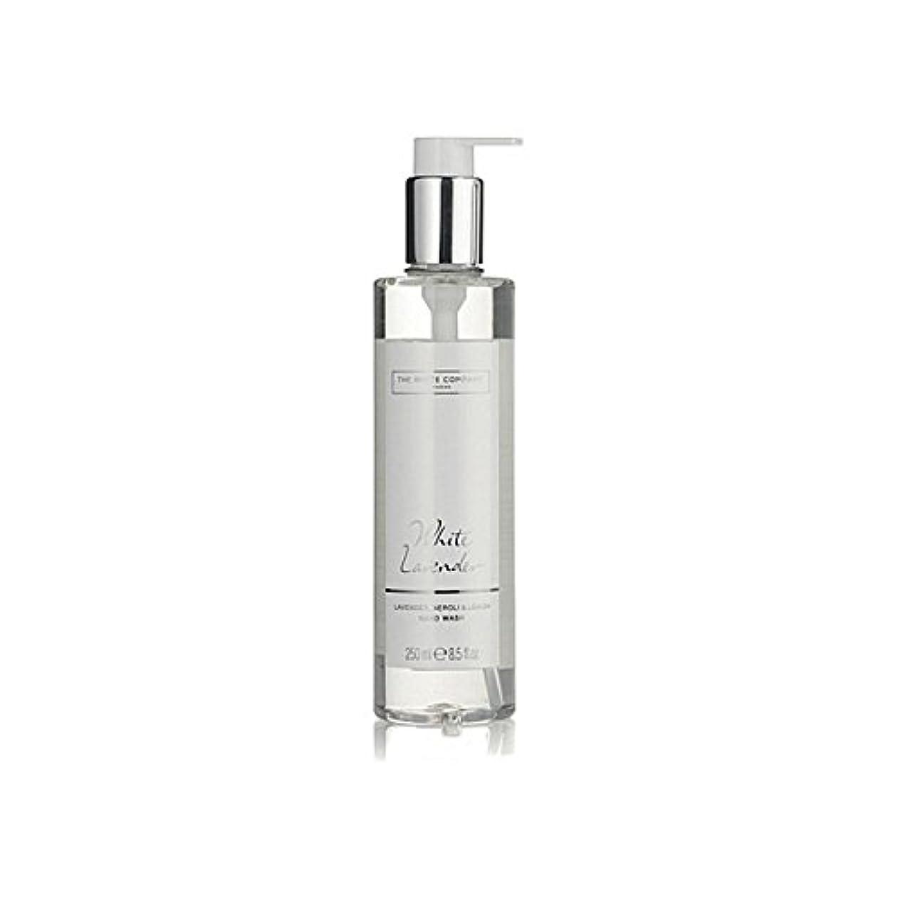 おじいちゃんフレームワークアンビエントThe White Company White Lavender Hand Wash (Pack of 6) - 白同社白ラベンダーハンドウォッシュ x6 [並行輸入品]