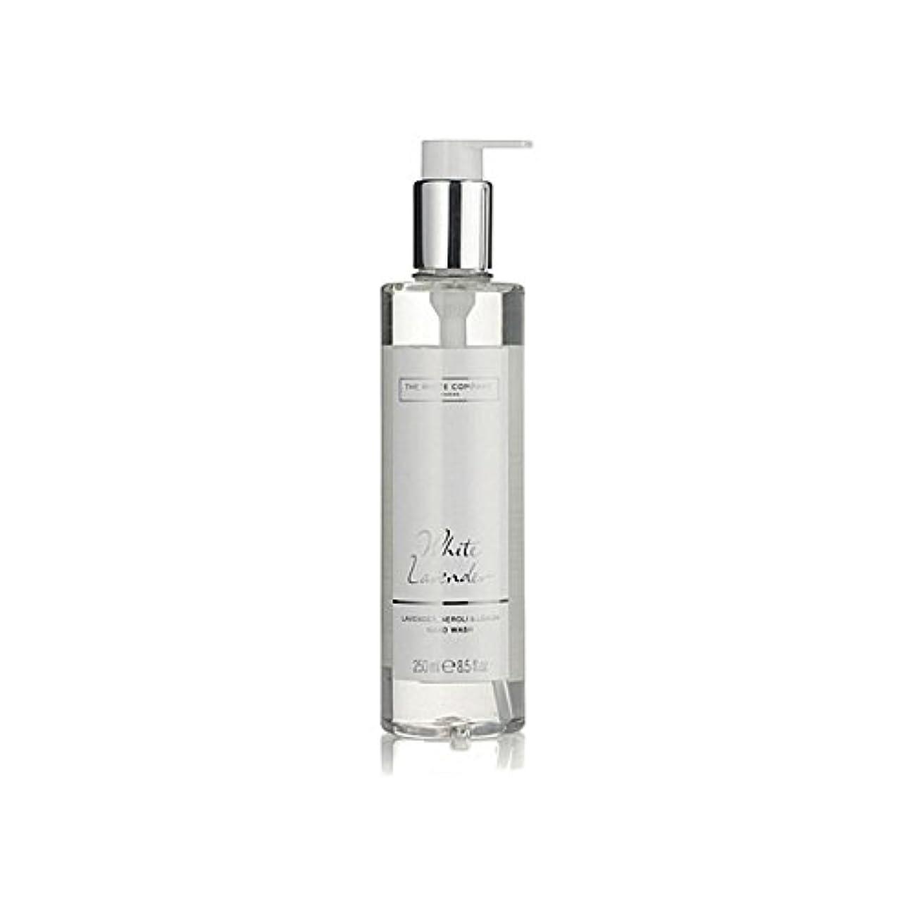 カヌー誤解させる汚染するThe White Company White Lavender Hand Wash (Pack of 6) - 白同社白ラベンダーハンドウォッシュ x6 [並行輸入品]