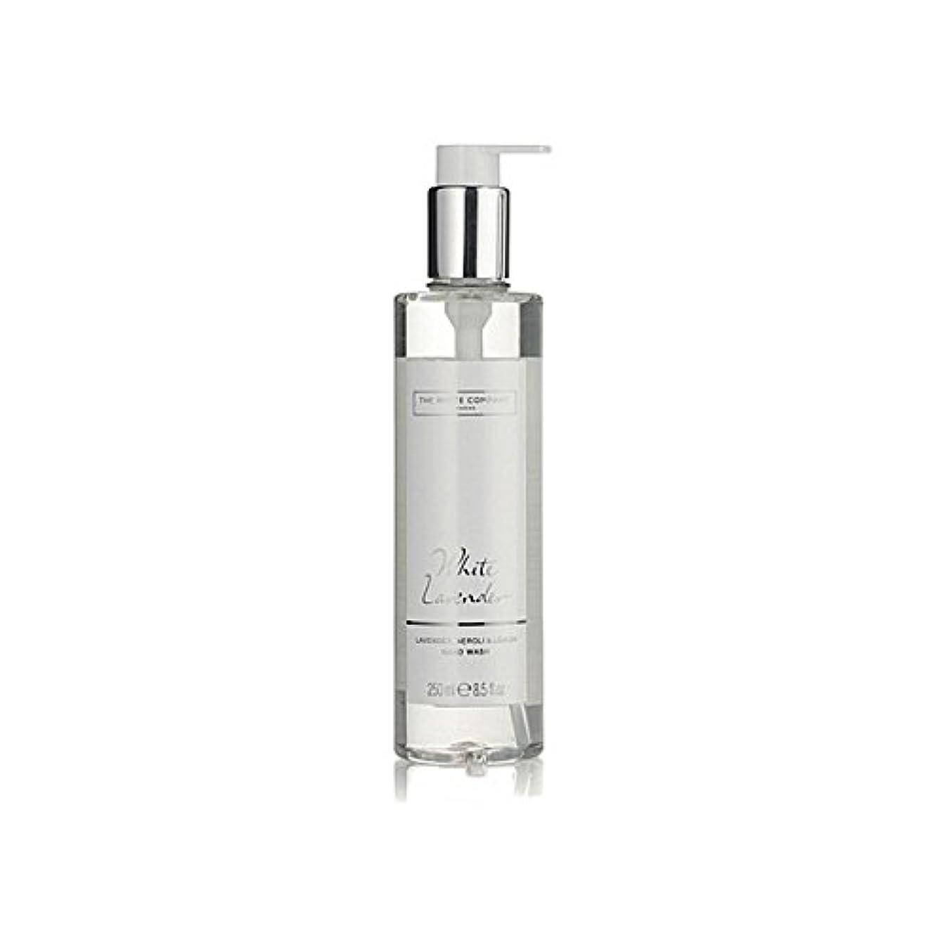 The White Company White Lavender Hand Wash (Pack of 6) - 白同社白ラベンダーハンドウォッシュ x6 [並行輸入品]