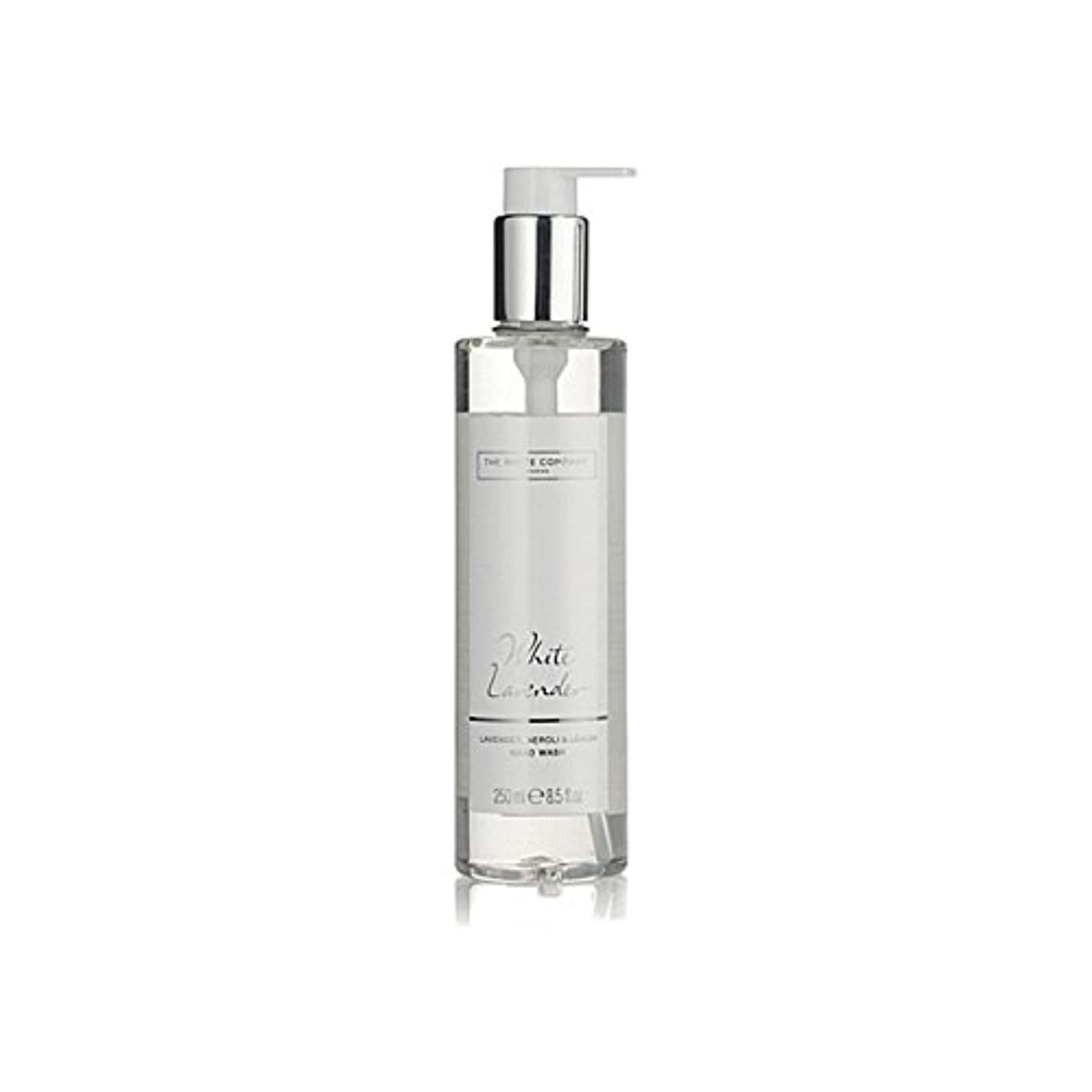 田舎者継続中戸棚白同社白ラベンダーハンドウォッシュ x2 - The White Company White Lavender Hand Wash (Pack of 2) [並行輸入品]