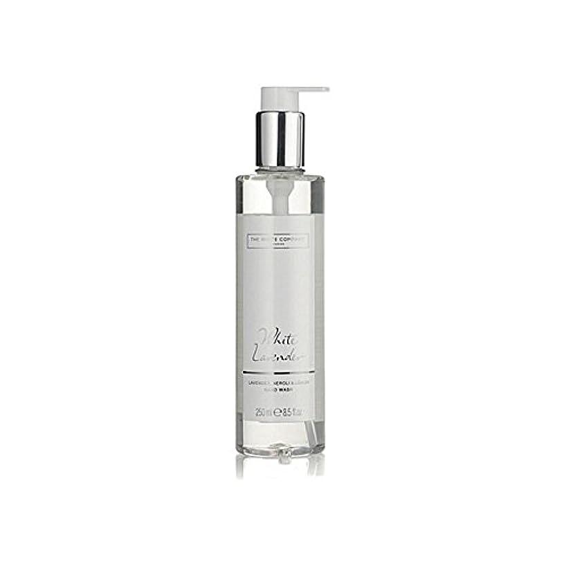 白同社白ラベンダーハンドウォッシュ x4 - The White Company White Lavender Hand Wash (Pack of 4) [並行輸入品]