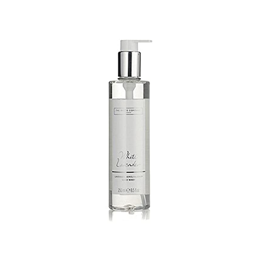 The White Company White Lavender Hand Wash (Pack of 6) - 白同社白ラベンダーハンドウォッシュ x6 [並行輸入品]