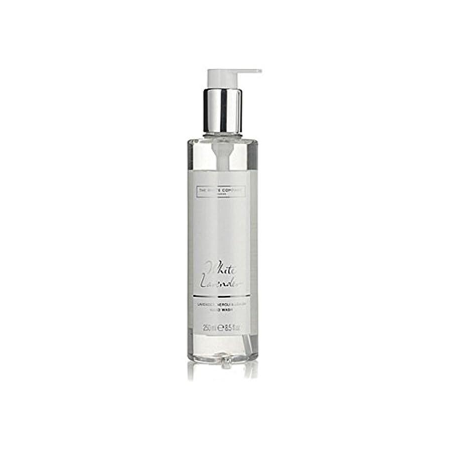 年次エイリアン駐地The White Company White Lavender Hand Wash (Pack of 6) - 白同社白ラベンダーハンドウォッシュ x6 [並行輸入品]