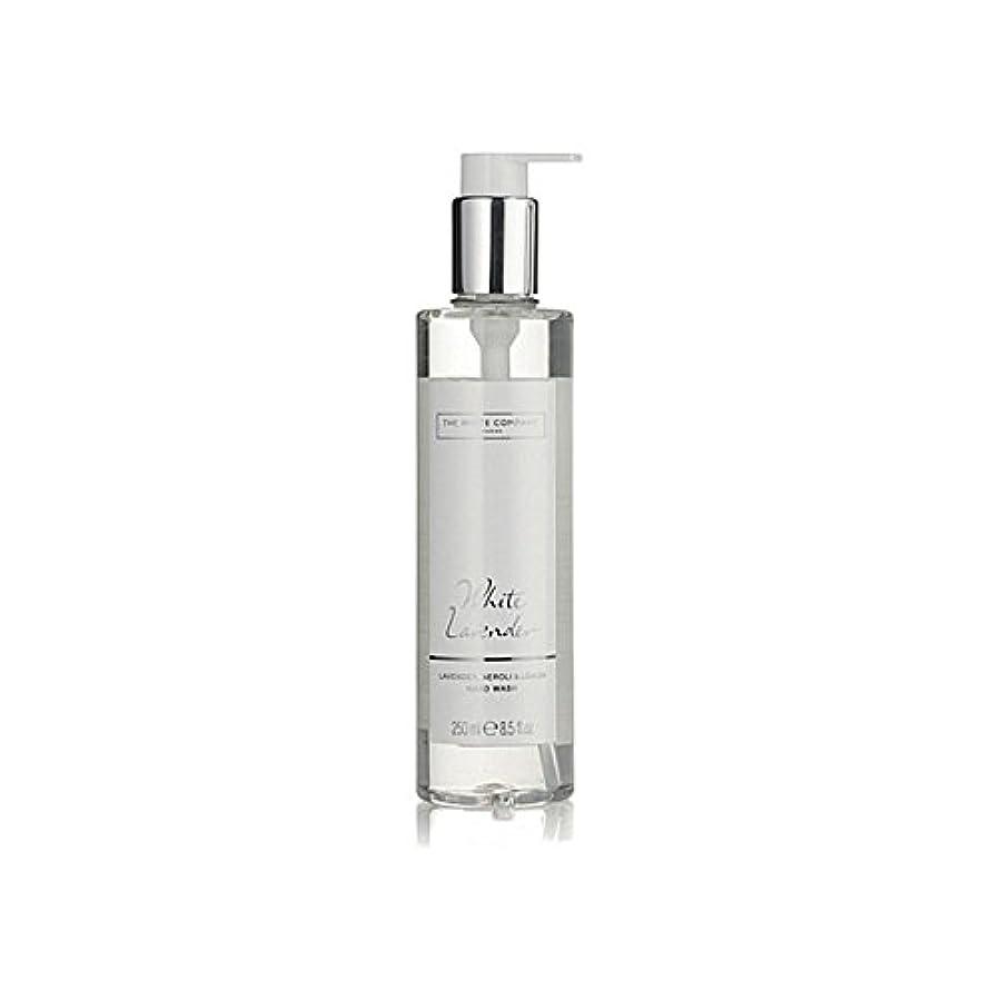 証書会話後世白同社白ラベンダーハンドウォッシュ x4 - The White Company White Lavender Hand Wash (Pack of 4) [並行輸入品]