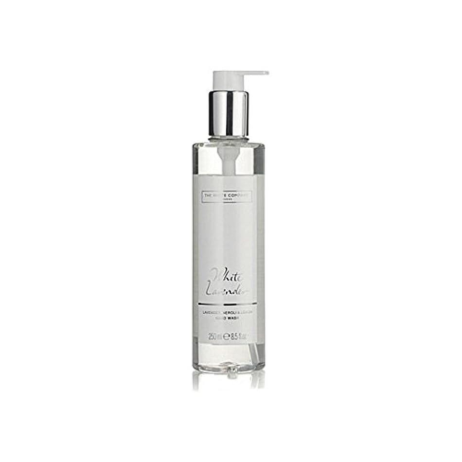 明快計画的犯人白同社白ラベンダーハンドウォッシュ x2 - The White Company White Lavender Hand Wash (Pack of 2) [並行輸入品]