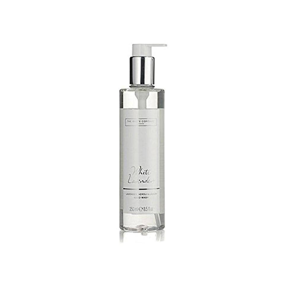 車両大事にするナインへThe White Company White Lavender Hand Wash (Pack of 6) - 白同社白ラベンダーハンドウォッシュ x6 [並行輸入品]