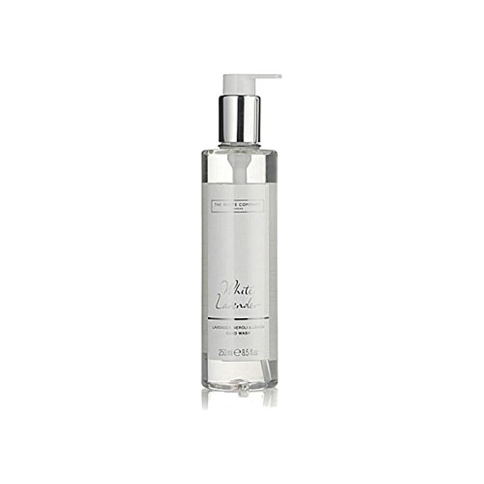 好ましい騒乱ところで白同社白ラベンダーハンドウォッシュ x2 - The White Company White Lavender Hand Wash (Pack of 2) [並行輸入品]