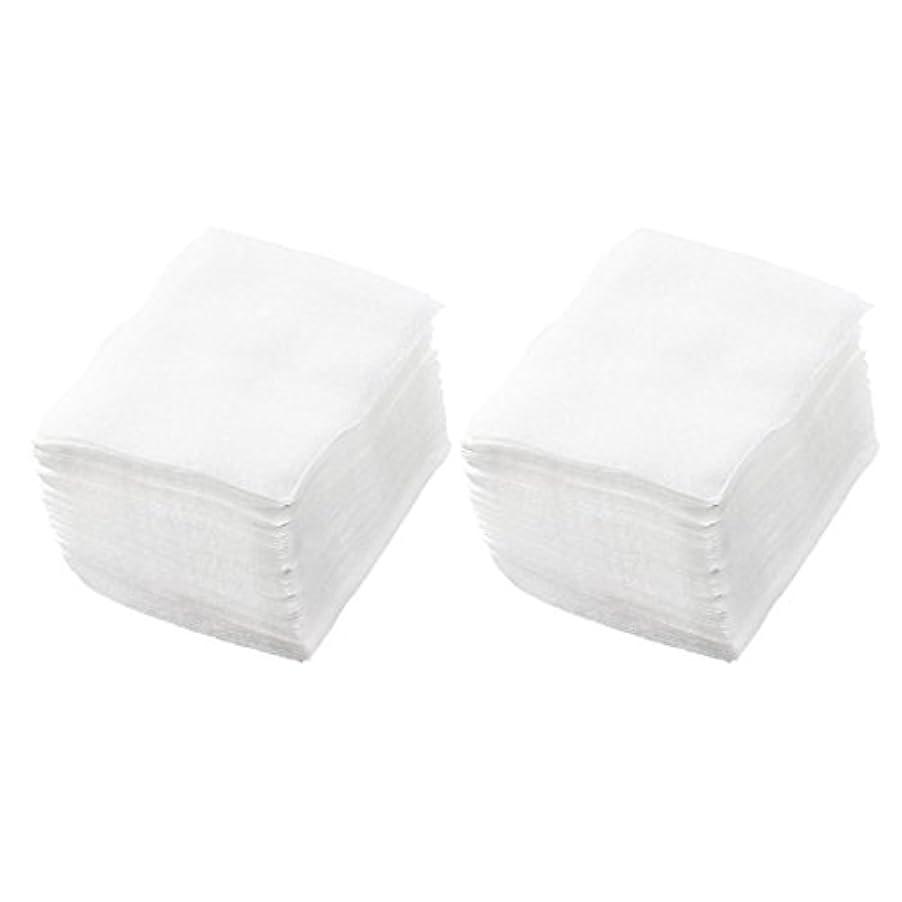 支払うこだわりなめらかSODIAL(R) 320個 レディ ホワイト ネイルポリッシュリムーバ 長方形フェイスクリーニング コットンパッド