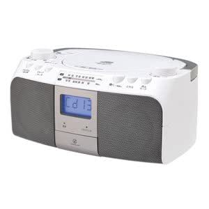 コイズミ CD対応ラジオ(シルバー)KOIZUMI SOUNDLOOK SAD-4961/S