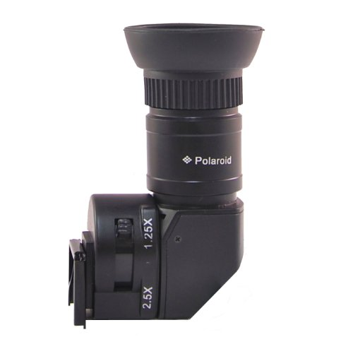 ポラロイド 変倍アングルファインダー 1x ~ 2.5x (Canon EOS, Nikon, Minolta, Sony Alpha, Leica, Pentax, Olympus 及びFuji 一眼レフ用)
