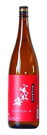 寒紅梅(かんこうばい) 純米吟醸 プロトタイプM 三重県産 1800ml