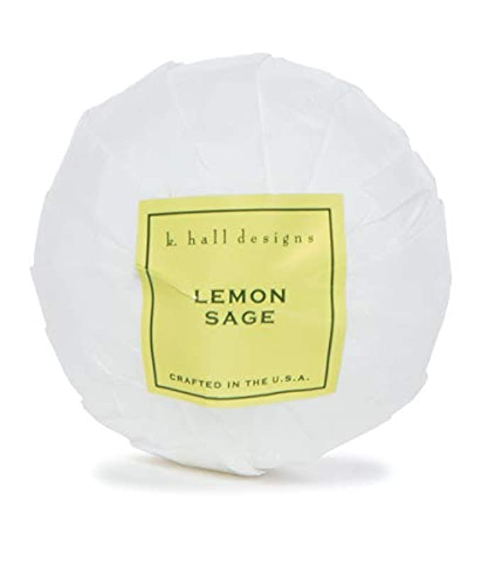 許すサイクロプス十分k.hall designs/バスボム(入浴剤) レモンセージ
