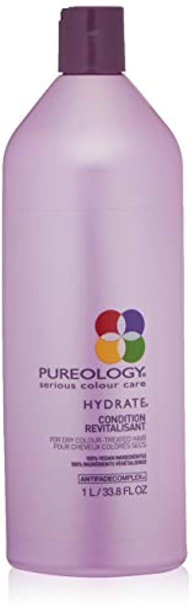 黙脅迫破裂Pureology PUREOLOGY水和物コンディショナー、33.8液量オンス 33.8 fl。オンス 0