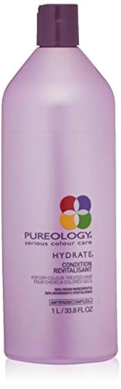 堤防付属品憂鬱Pureology PUREOLOGY水和物コンディショナー、33.8液量オンス 33.8 fl。オンス 0