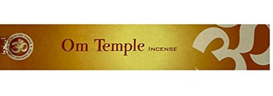小屋水を飲むくそーMary's Naturals Shop Om Temple お香スティック 15グラムボックス