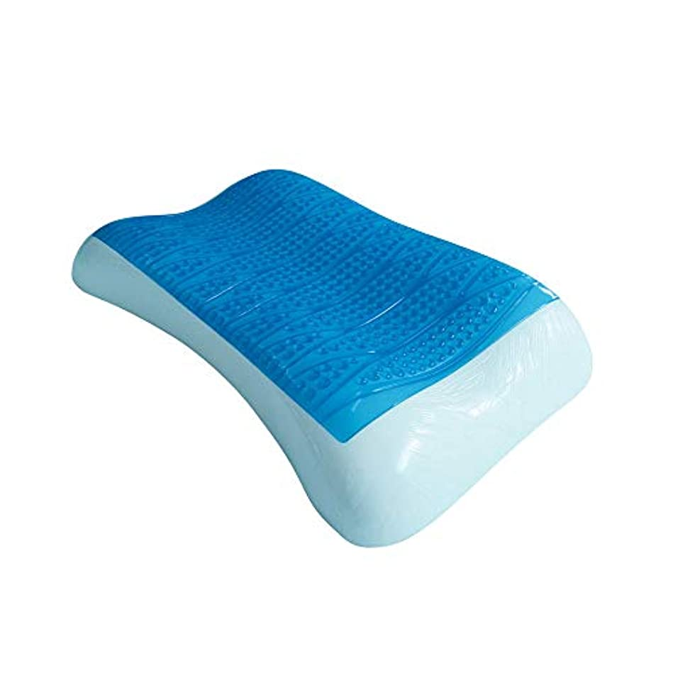 愛されし者誤解反逆者ゲル低反発枕、輪郭冷却ゲル枕整形外科低反発枕首と背中の痛み - 側面、背中と胃の睡眠に最適