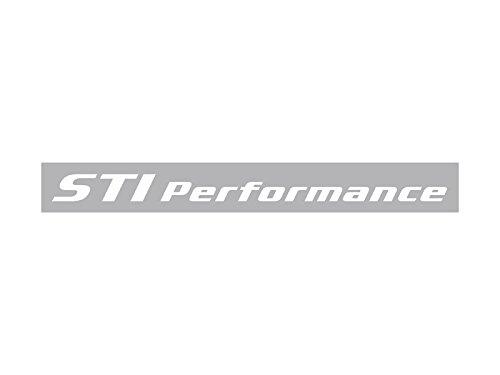 STI パフォーマンスステッカー(ホワイト) STSG14100470