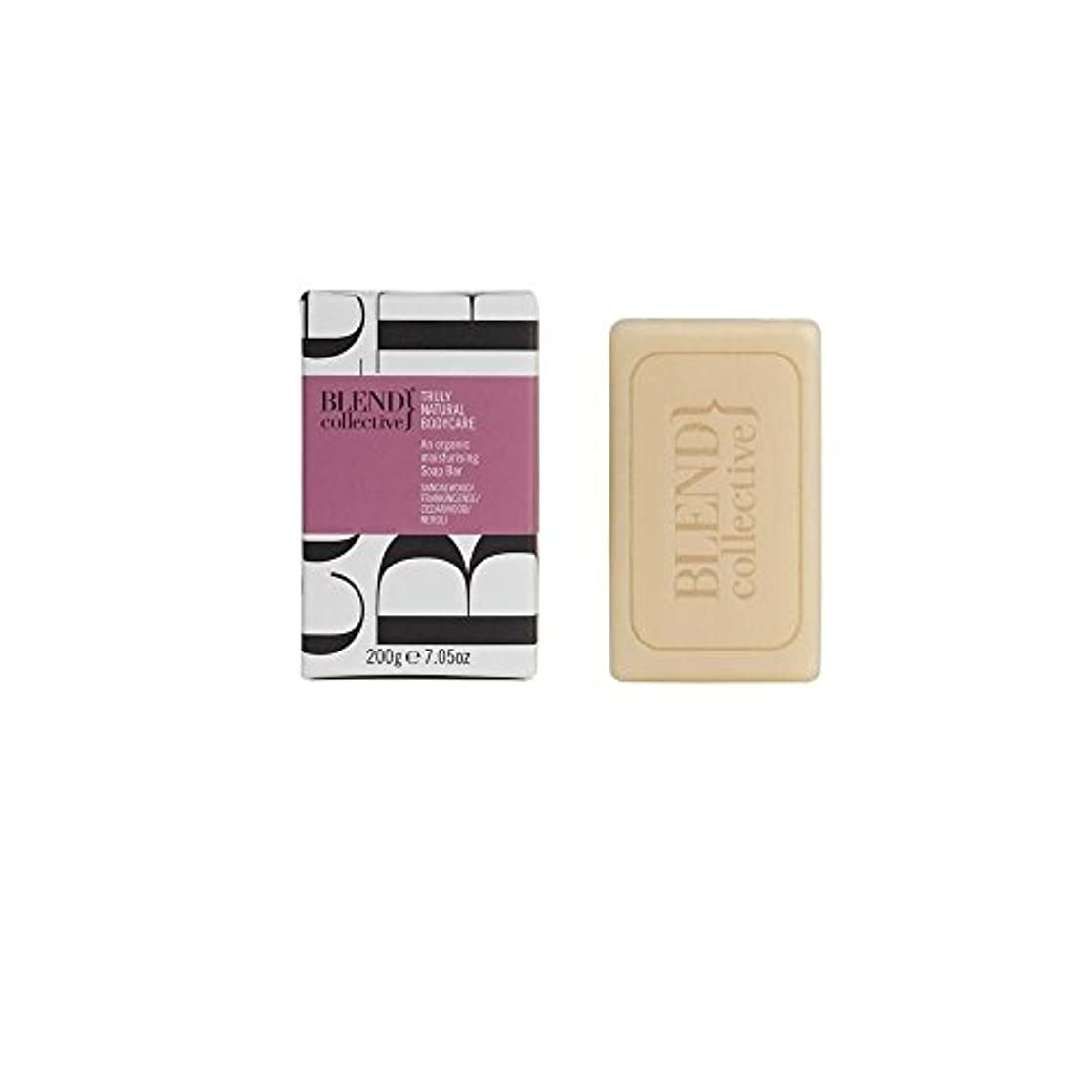 繊毛空洞拡散するBlend Collective Unwinding Soap Bar (200g) 集合的な巻き戻し固形石鹸( 200グラム)をブレンド [並行輸入品]