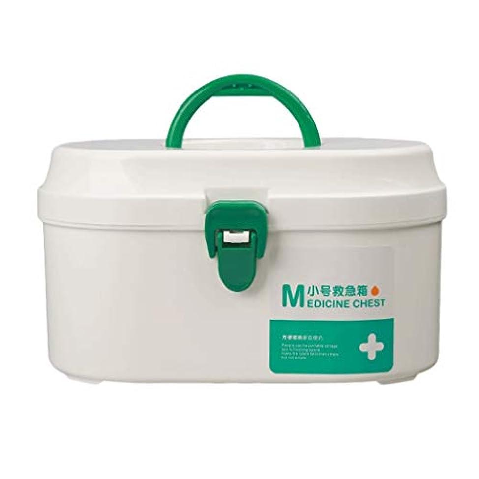 マティス進行中連続的TLMYDD ピルボックス薬収納ボックス家庭用薬箱L21xW12xH12cm 応急処置キット (Color : White, Size : L21*W12*H12CM)