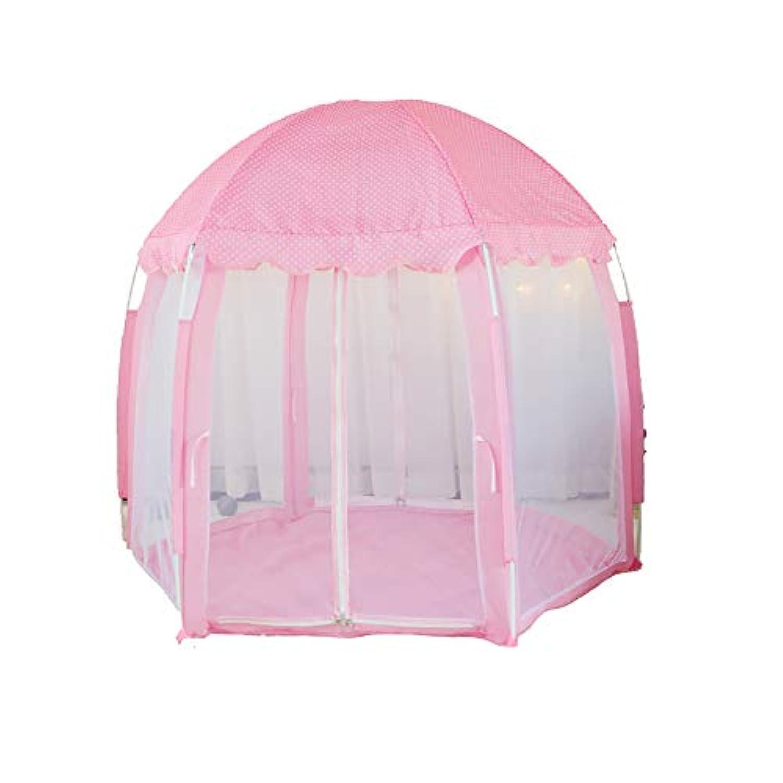 キノコの子供のテントハウス、プラスチック繊維のロッドでコーティングされた春Yafang生地、毛羽立ちが毛羽立ちではない、それは静電気を生成するのは簡単ではありません。