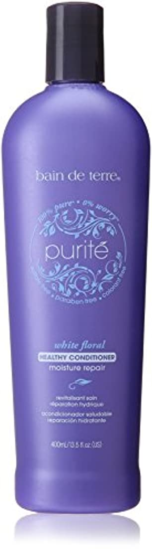 リフトアコー台無しにBain De Terre Purite' Moisture Repair Conditioner, 13.5 Fluid Ounce by Bain de Terre