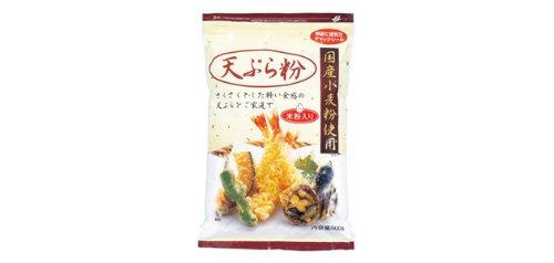 国産小麦の「天ぷら粉」