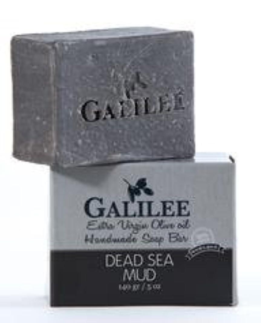苛性バンガロー逃れるガリレー フェイシャルオリーブオイル&死海の泥ソープ 140g