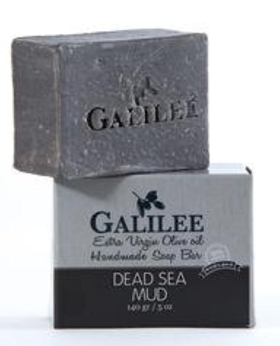 モバイル拘束する密度ガリレー フェイシャルオリーブオイル&死海の泥ソープ 140g