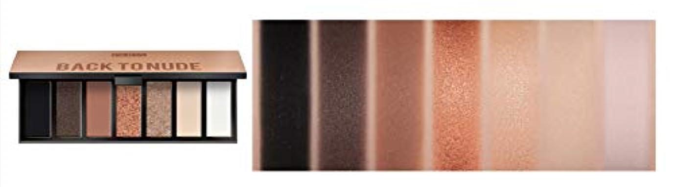 シェードブラスト形容詞PUPA MAKEUP STORIES COMPACT Eyeshadow Palette 7色のアイシャドウパレット #001 BACK TO NUDE(並行輸入品)
