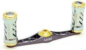 LIVRE(リブレ) リール フラット Type-F85 セイハコウ60SP用(ガンメタP+ゴールドG)