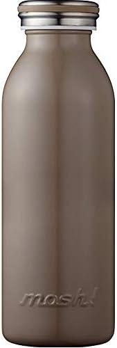 水筒 真空断熱 スクリュー式 マグ ボトル 0.45L ブラウン mosh! (モッシュ! ) DMMB450BR
