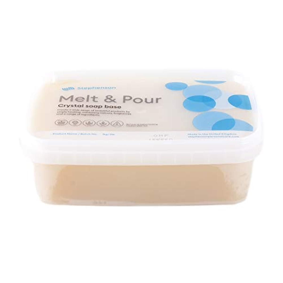 驚かす苦い効率的Melt and Pour Soap Base Organic - 1Kg