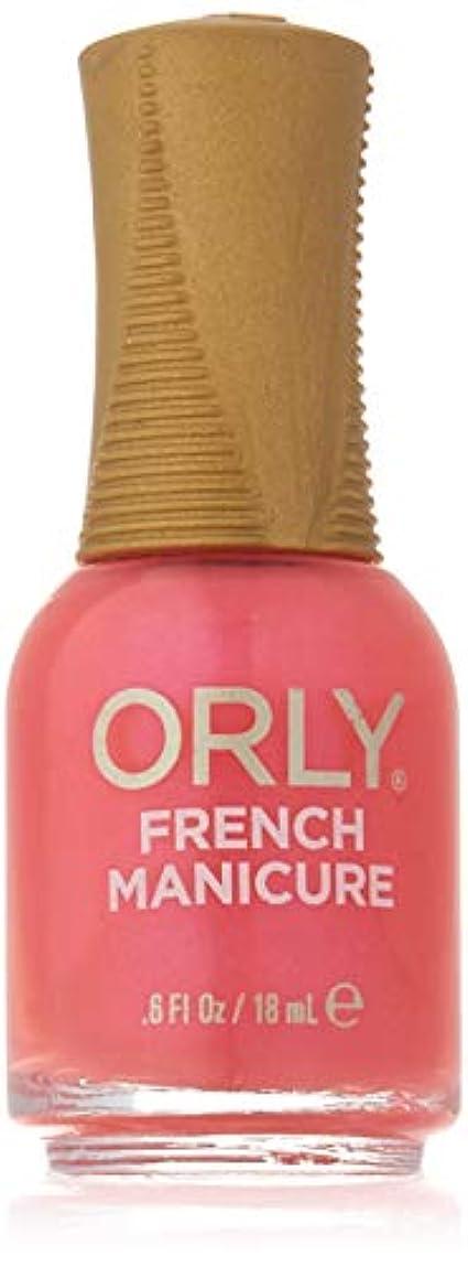 非常にきしむ誤Orly Nail Lacquer - French Manicure - Des Fleurs - 0.6oz / 18ml