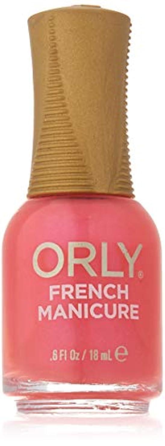 献身不潔ブレンドOrly Nail Lacquer - French Manicure - Des Fleurs - 0.6oz / 18ml