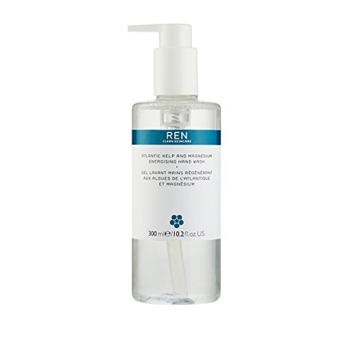 セラフ燃やす熟達したレン Atlantic Kelp And Magnesium Energising Hand Wash 42791/5312 300ml/10.2oz並行輸入品