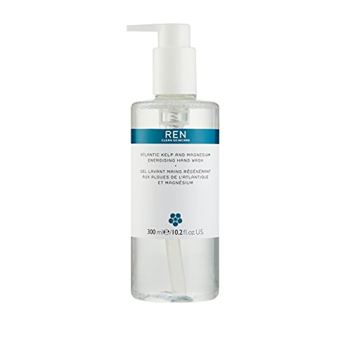 増幅する聴衆制約レン Atlantic Kelp And Magnesium Energising Hand Wash 42791/5312 300ml/10.2oz並行輸入品