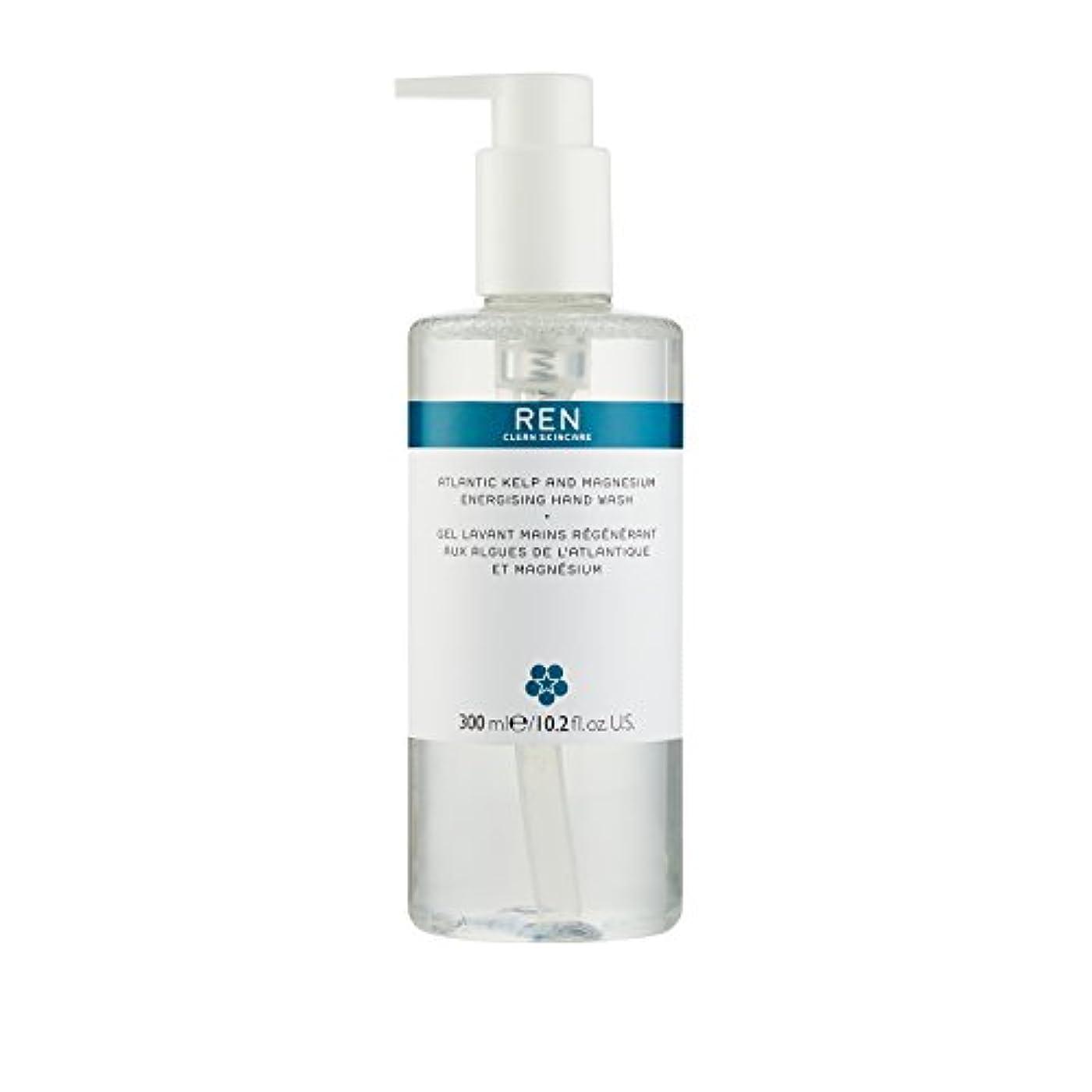 回転させるオークション野心的レン Atlantic Kelp And Magnesium Energising Hand Wash 42791/5312 300ml/10.2oz並行輸入品