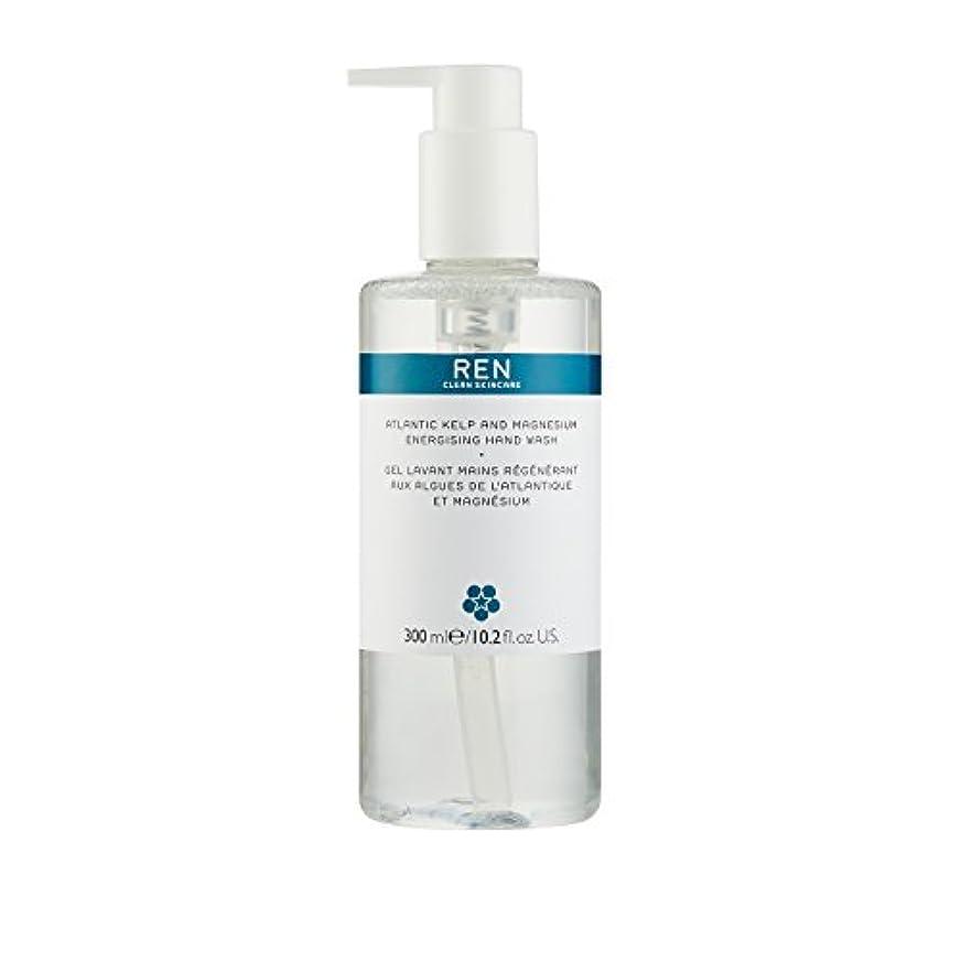 ダイバー多様な供給レン Atlantic Kelp And Magnesium Energising Hand Wash 42791/5312 300ml/10.2oz並行輸入品