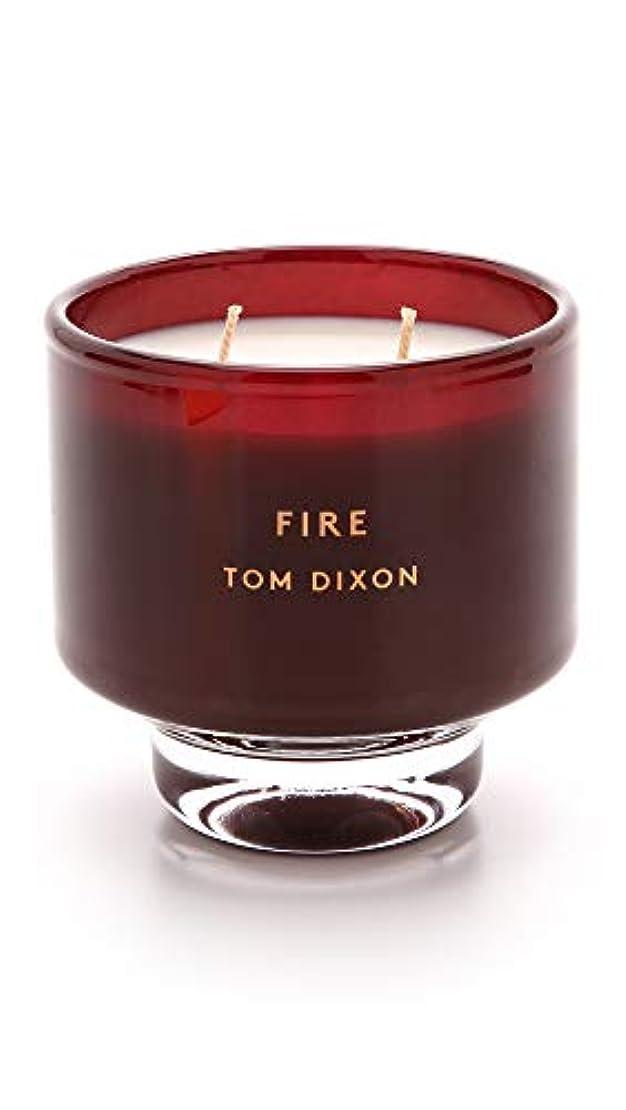 どんなときも組会計士Tom DixonメンズFire Scented Candle One Size レッド SC05F