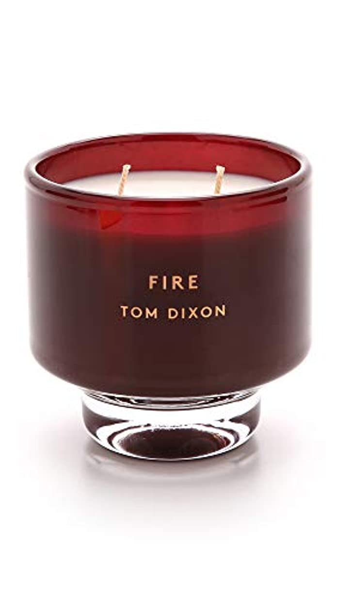 Tom DixonメンズFire Scented Candle One Size レッド SC05F