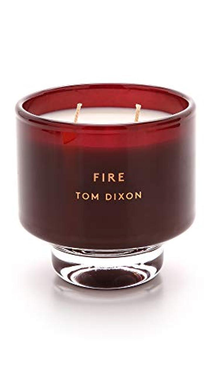 ハンカチにぎやか賞賛するTom DixonメンズFire Scented Candle One Size レッド SC05F