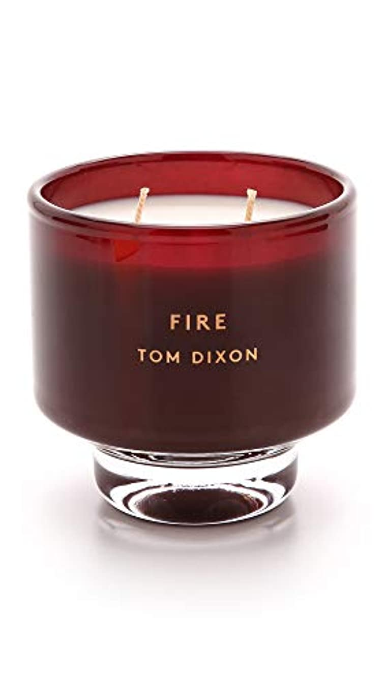 予見するパキスタン批評Tom DixonメンズFire Scented Candle One Size レッド SC05F
