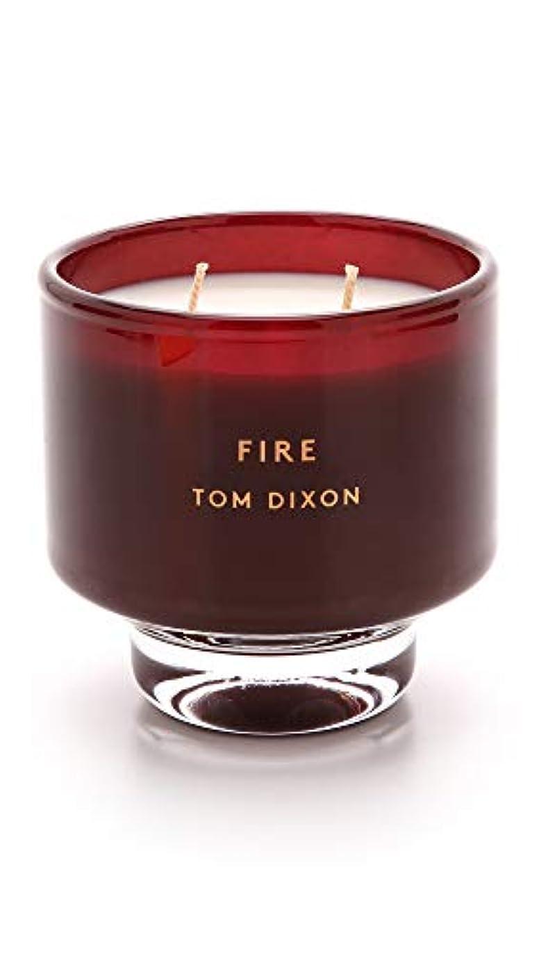 リスキーな浴室ベリTom DixonメンズFire Scented Candle One Size レッド SC05F
