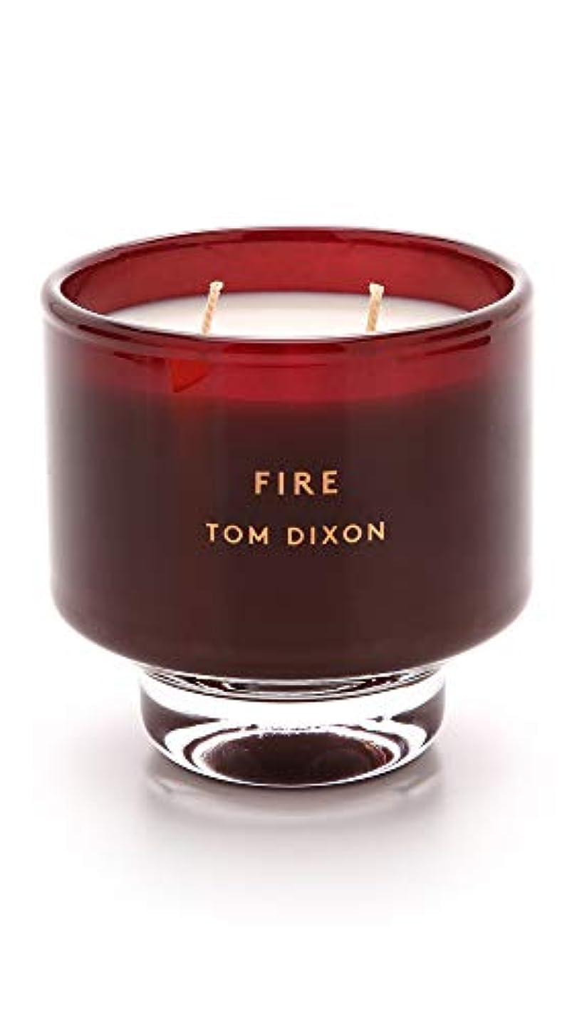 放牧するめ言葉統合するTom DixonメンズFire Scented Candle One Size レッド SC05F