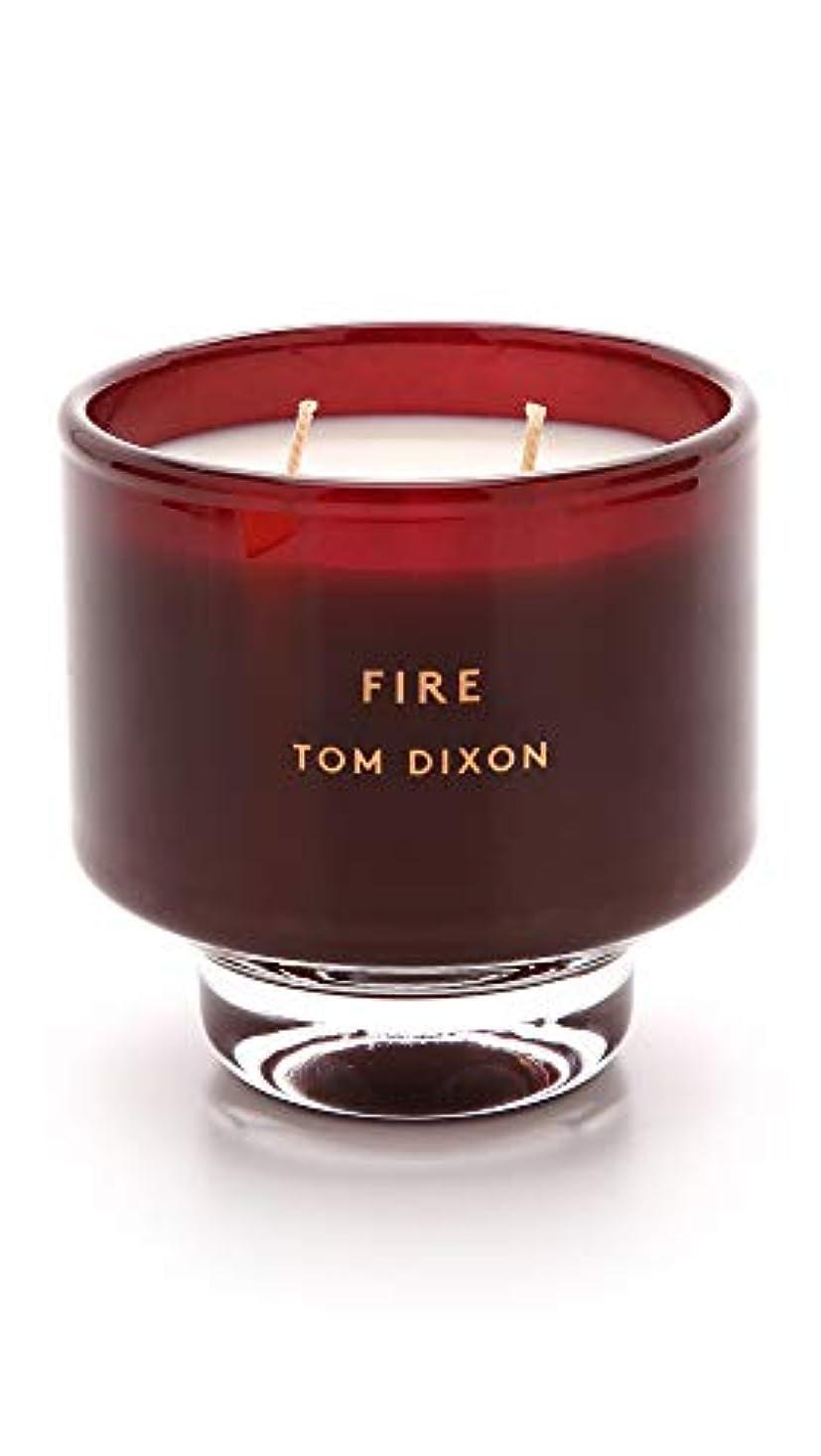 クリスチャン聖職者群れTom DixonメンズFire Scented Candle One Size レッド SC05F