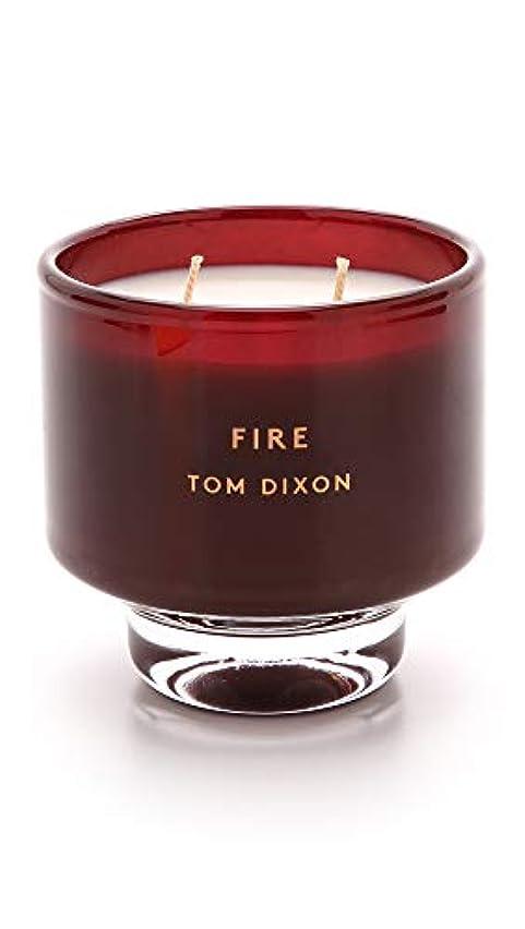 反発描く締め切りTom DixonメンズFire Scented Candle One Size レッド SC05F