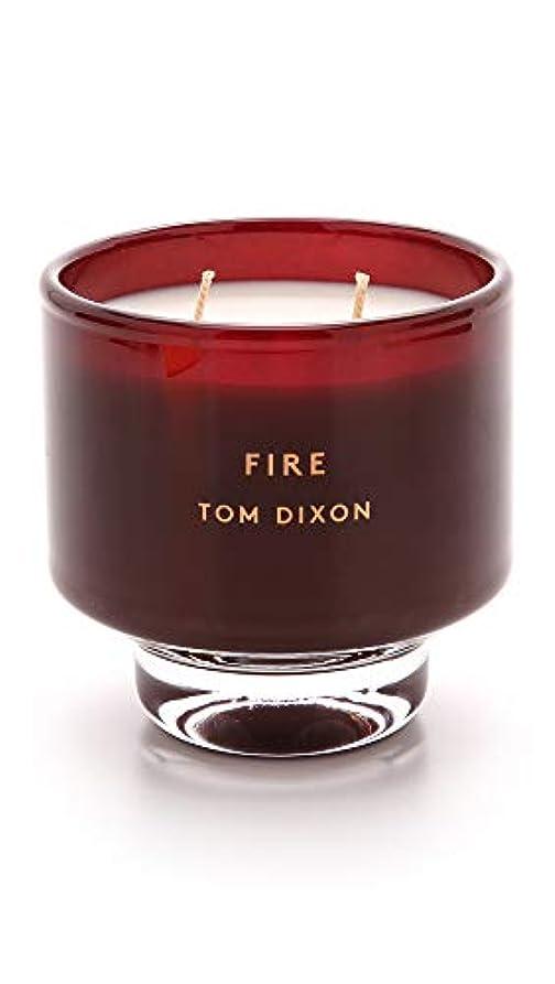 どこかエキゾチック確かにTom DixonメンズFire Scented Candle One Size レッド SC05F