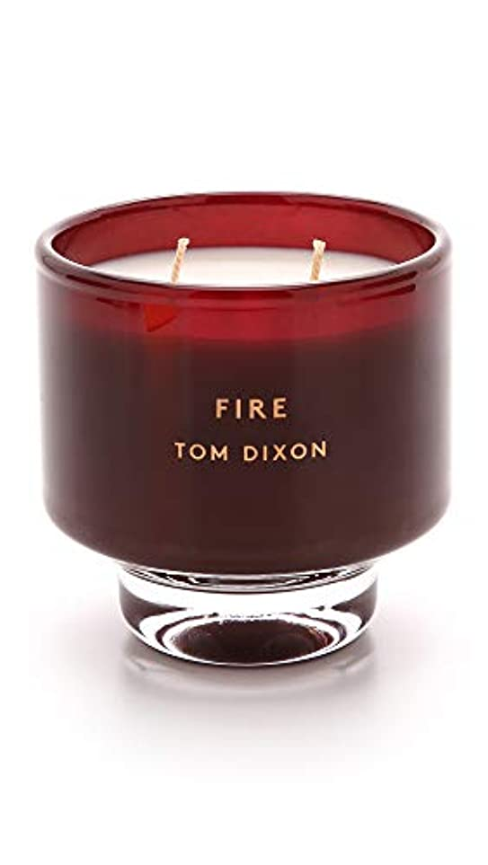 ヒット櫛シソーラスTom DixonメンズFire Scented Candle One Size レッド SC05F