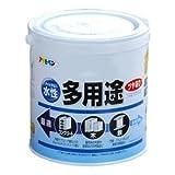 アサヒペン 水性多用途 ツヤあり 白 0.7L