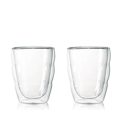 【正規品】 BODUM ボダム PILATUS ダブルウォールグラス 250ml (2個セット) 10484-10